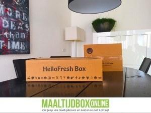 HelloFresh box thuisbezorgd
