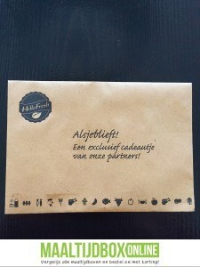 HelloFresh box extra cadeau