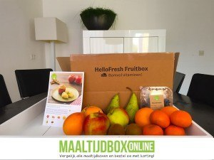 Hellofresh ervaringen fruitbox
