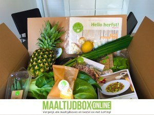 Hellofresh box geopend