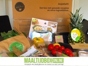 HelloFresh box content