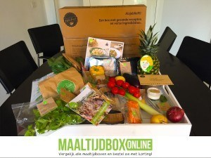 HelloFresh box inhoud