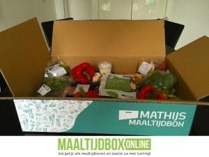 Mathijs maaltijdbox open