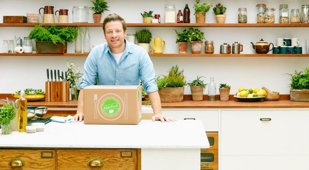 Hellofresh samenwerking Jamie Oliver