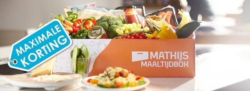 Kortingscode Mathijs Maaltijdbox